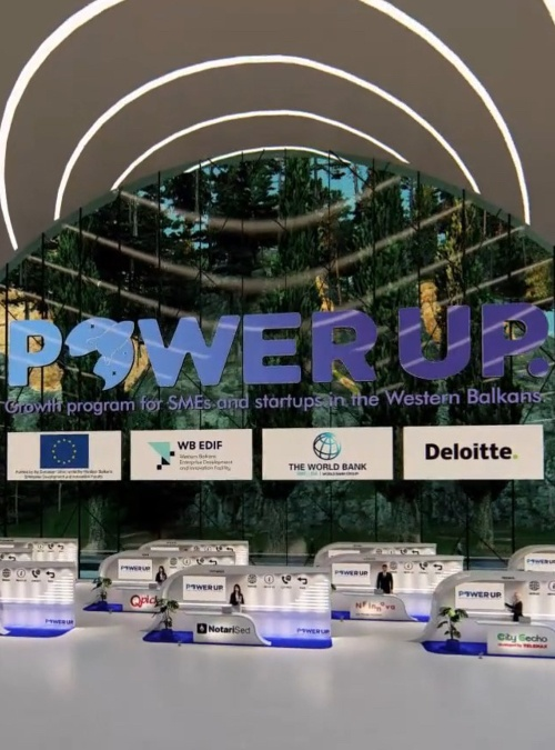 Grand Finale of PowerUP, the Western Balkan Entrepreneurial Excellence Award
