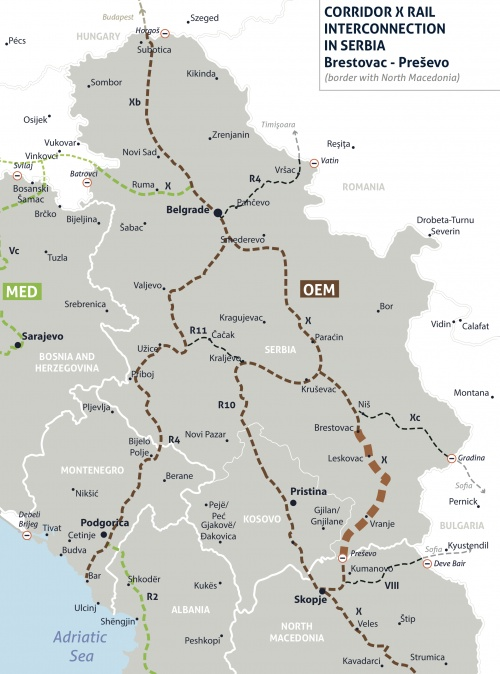 Launch of EU-supported Technical Assistance for Corridor X Rail Section between Serbia and North Macedonia