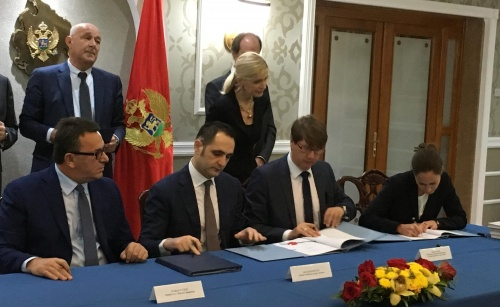 Financing Contracts for the New Wastewater Project in Podgorica Now in Place