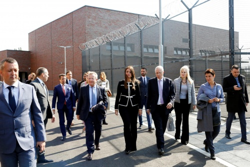 Official opening of Pancevo Penitentiary-Correctional Facility, one of the most modern prisons in the region