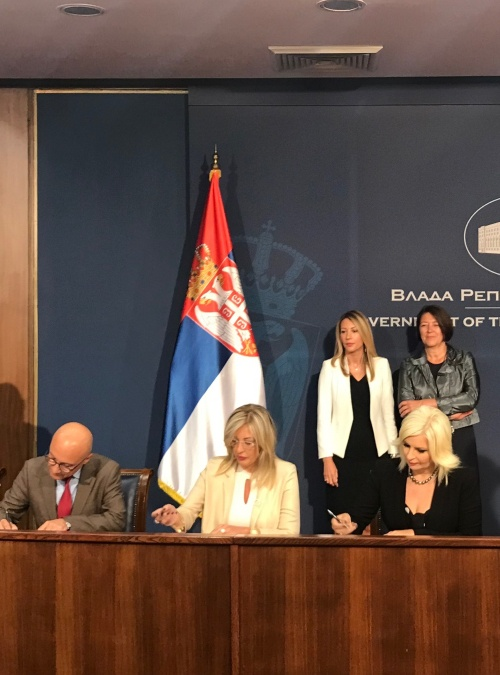 "€40 Million Investment Grant Agreement Signed for the First Section of the 2018 Connectivity Project the ""Peace Highway"" Connecting Serbia and Kosovo*"