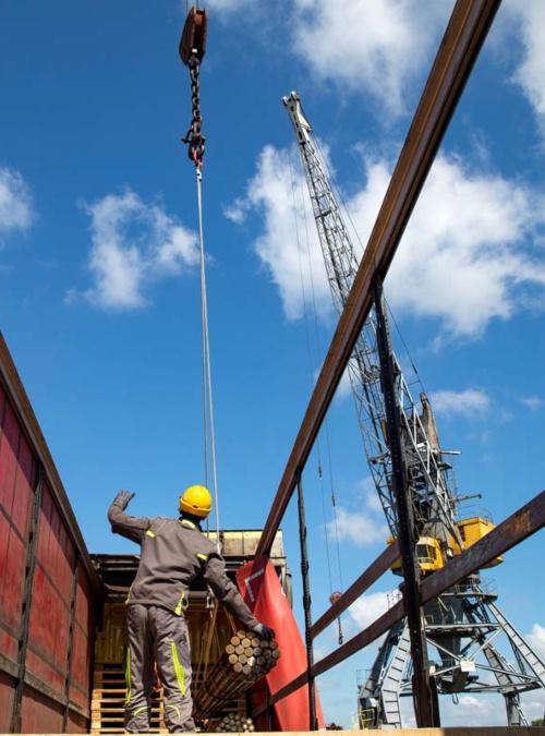 Beginning of Works on the Modernization of the Port of Brčko